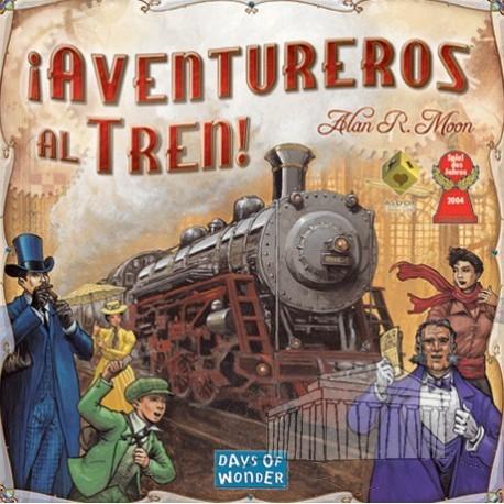 ¡Aventureros al Tren! board