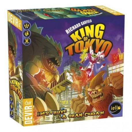 KING OF TOKYO, Take control of a Mega Monster and destroy everything in your path