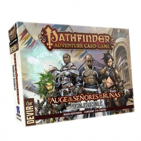 PATHFINDER, Add more players and types of character to your experience in the game Pathfinder Deck