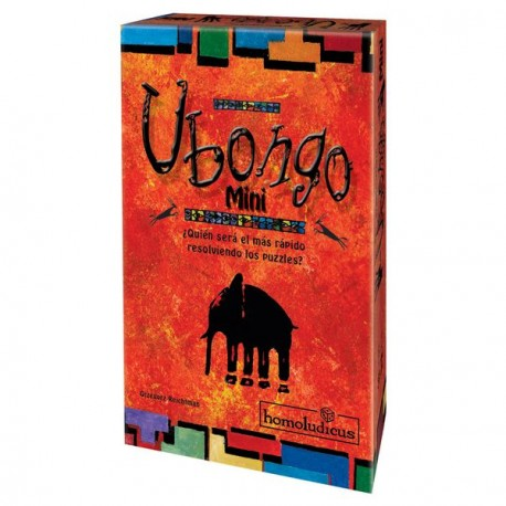 Ubongo Mini, The popular game now in mini format, with new puzzles! Quick and easy.