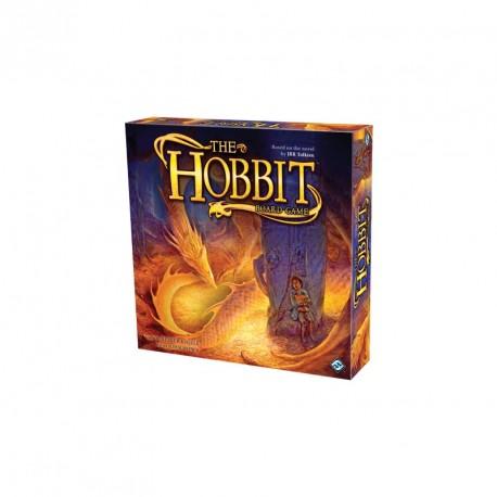 Caja del juego de mesa de la película El hobbit de J.R.R. Tolkien