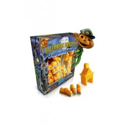 Table game Ticket to Ride - Halloween Freighter (Set Of Trains and Stations)