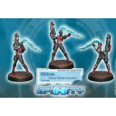 Nomadas: Wildcats Pol Unit (heavy Rocket)