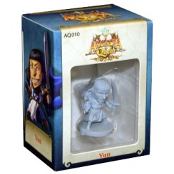 Yun, personaje de expansión del juego de mesa de estrategia Arcadia Quest de Edge Entertainment