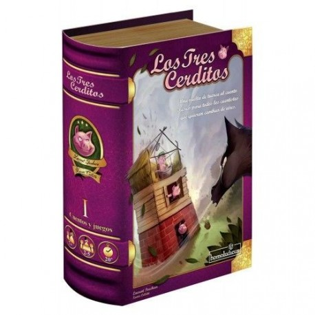 Board game The three little pigs of Homoludicus