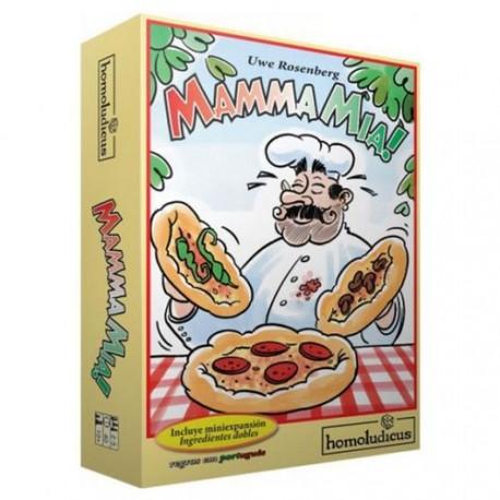 Juego de mesa Mamma Mia para niños de homoludicus