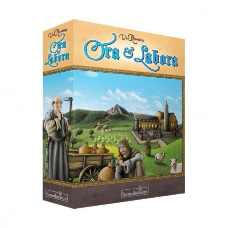 Ora et Labora is a board game about monastic economy in the Middle Ages