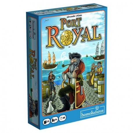 Board game Port Royal from homoludicus