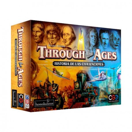 hrough the Ages is an exciting game of strategy and resource management