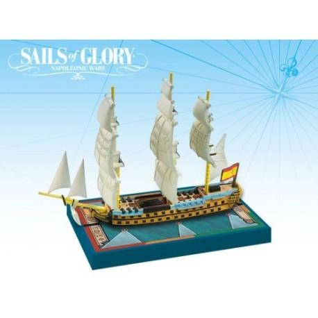 Sails of Glory - Navío de línea español Argonauta 1806
