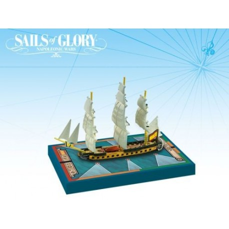 Sails of Glory - Fragata española Sirena 1793