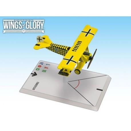 FOKKER D.VII (Sachsenberg) Wings of Glory
