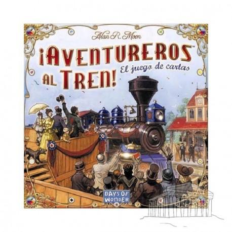 Portada juego ¡Aventureros al Tren! El Juego de Cartas