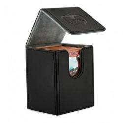 ULTIMATE GUARD FLIP DECK CASE 100+ STANDARD SIZE XENOSKIN BLACK