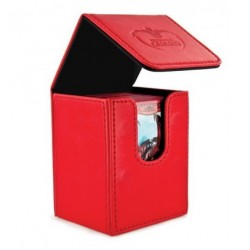 ULTIMATE GUARD FLIP DECK CASE 100+ STANDARD SIZE RED