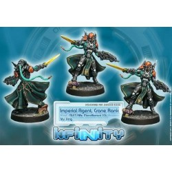 Yu Jing - Imperial Agents Crane Rank (multi Rifle)