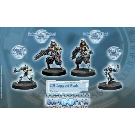YU JING - JSA SUPPORT PACK
