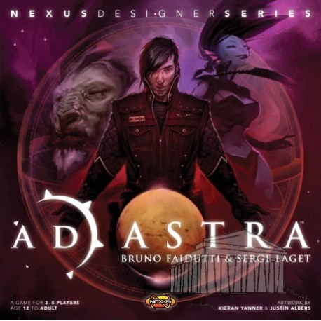 Strategy table game Ad Astra from Edge Entertainment