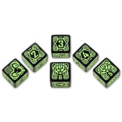 QW SHADOWRUN DECKER DICE SET (6)