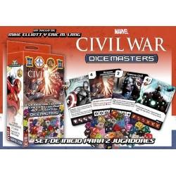 MARVEL DICE MASTERS CIVIL WAR - STARTER