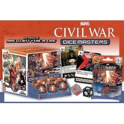 MARVEL DICE MASTERS CIVIL WAR GR FEED (90)