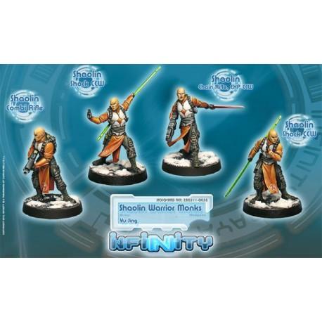 Shaolin Warrior Monks Yu Jing Infinity