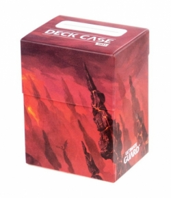 ULTIMATE GUARD BASIC DECK CASE 80+ STANDARD SIZE LANDS EDITION MOUNTAIN I