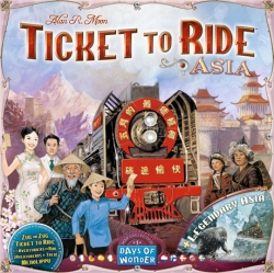 Ticket to Ride! Asia