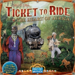 Ticket to Ride! The Heart of Africa
