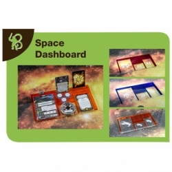 X-WING - SPACE DASHBOARD REBELS