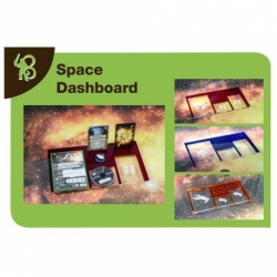 X-WING - SPACE DASHBOARD EMPIRE