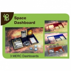 X-WING - DASHBOARD MERCENARIOS PACK 3