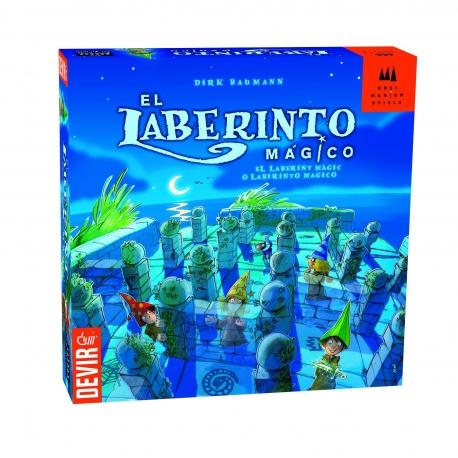 El Laberinto Mágico juego de mesa para niños de Devir