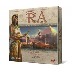 Ra Board game set in ancient Egypt where the best will rise to power