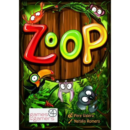 Zoop! Divertido juego de cartas donde deberás utilizar tu ingenio y habilidad