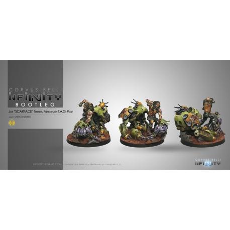 Infinity Figure Mercenaries created by Corvus Belli 280712-0430