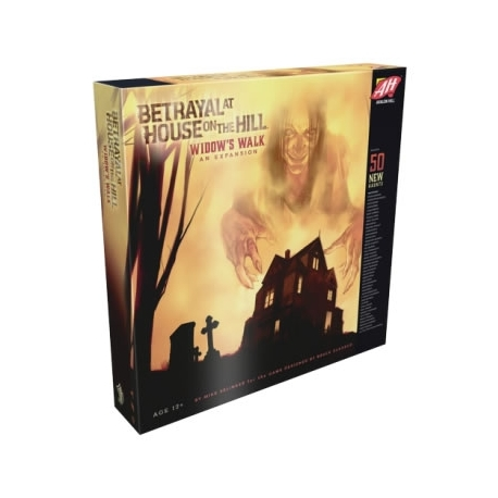 BETRAYAL AT HOUSE ON THE HILL EXPANSION: WIDOW *INGLES*