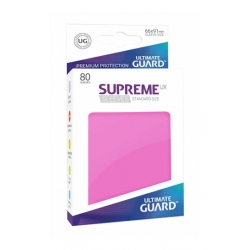 ULTIMATE GUARD SUPREME UX SLEEVES STANDARD SIZE PINK (80)