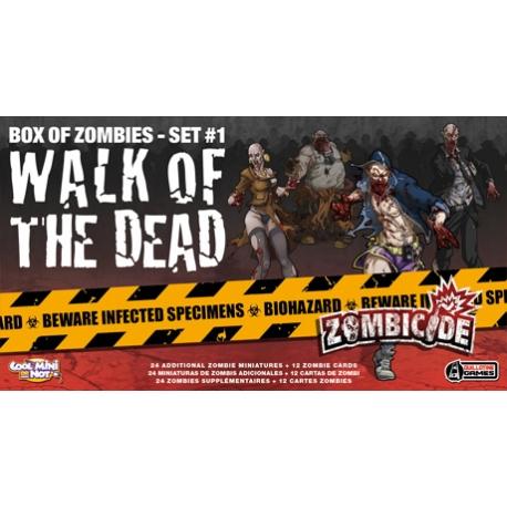 Expansión para Zombicide donde podrás encontrar 24 miniaturas zombies para hacer de tus partidas un reto difícil de superar