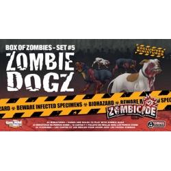 Zombie Dogz expansión de perros zombies para Zombicide