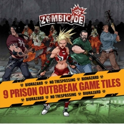 Zombicide: Prison Outbreak Game Tiles