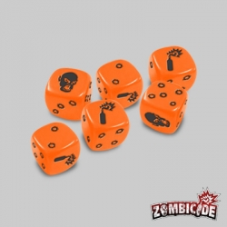 Zombicide: Orange Dices