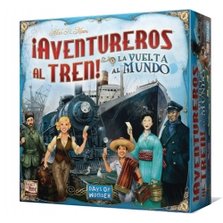 Ticket to Ride! World Tour adventure game table