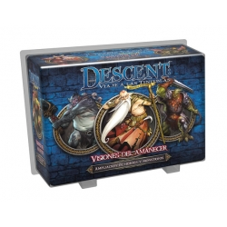 Descent: Visions of Dawn expansion heroes and monsters