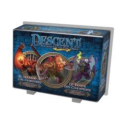Descent: El tratado de los campeones expansión héroes y monstruos