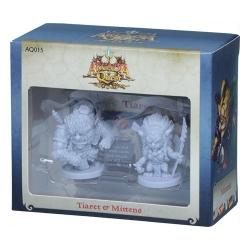 Arcadia Quest: Tiaret y Mittens miniaturas expansión juego básico