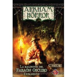 Arkham Horror: La Maldición del Faraón Oscuro expansión juego básico