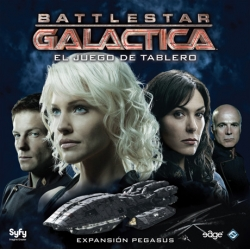 Pegasus expansion is an expansion of the game of table semicooperative the famous TV series Battlestar Galactica