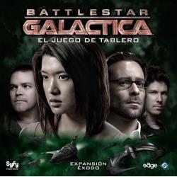 Éxodo es una expansión para completar el juego básico basado en la famosa serie de televisión Battlestar Galactica
