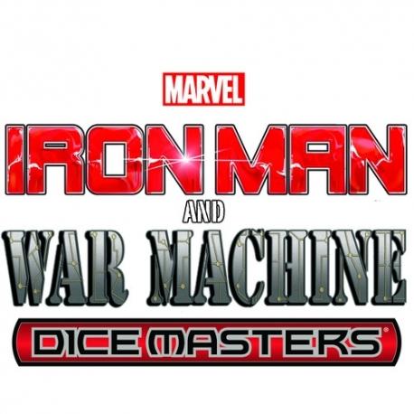 MARVEL DICE MASTERS - IRON MAN AND WAR MACHINE STARTER SET - EN